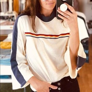 Camp Collection Bell Sleeve Top
